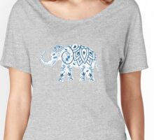 Indian Elephant  Women's Relaxed Fit T-Shirt
