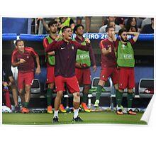 Cristiano Ronaldo Portugal Euro 2016 Winners Poster