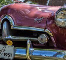 1951 Henry J Classic Car Sticker