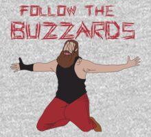 Minimalist Buzzards  One Piece - Long Sleeve