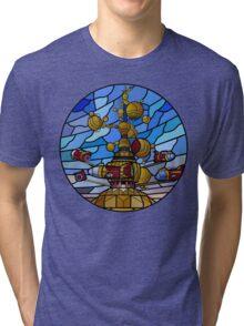 Orbitron: Les Machines Volantes Tri-blend T-Shirt