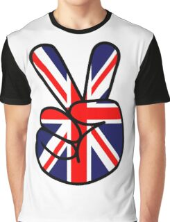 Peace British Style Graphic T-Shirt