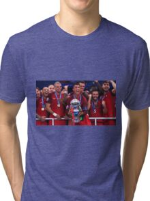 Portugal Win Euro 2016 Tri-blend T-Shirt