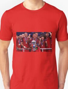 Portugal Win Euro 2016 Unisex T-Shirt