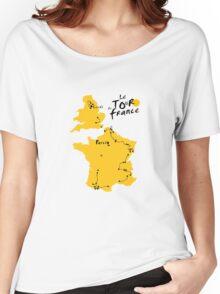 Le Tour de France 2014 Women's Relaxed Fit T-Shirt