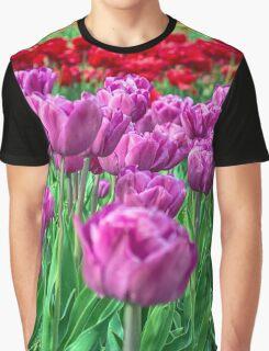 Tulip Field Graphic T-Shirt