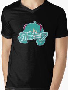 Hatsune Miku Mens V-Neck T-Shirt