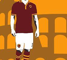 Francesco Totti by sdbros
