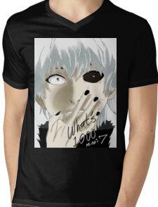 Kaneki Ken Mens V-Neck T-Shirt