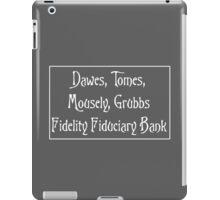 Mr Banks' Bank iPad Case/Skin
