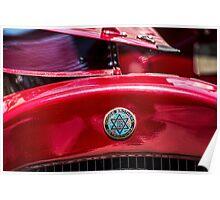 Vintage Dodge Brothers star of David  Logo Poster