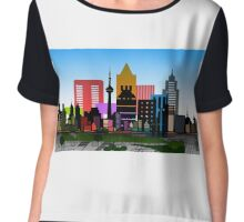 model city 2 Chiffon Top