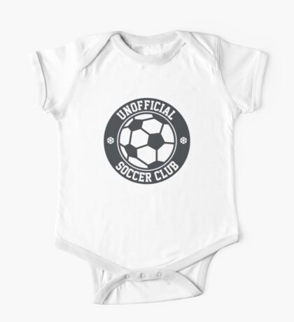 Unofficial Soccer Club t-shirt for soccer fans One Piece - Short Sleeve