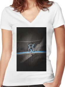 Vintage V8 Women's Fitted V-Neck T-Shirt