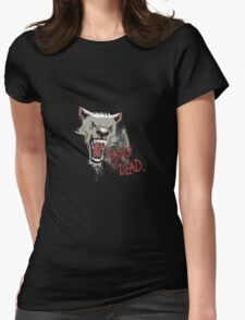 Punk Wolf Womens Fitted T-Shirt