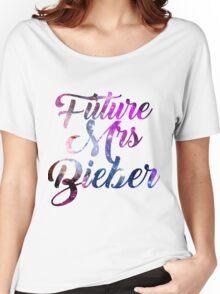 Future Mrs Bieber - Justin Bieber  Women's Relaxed Fit T-Shirt