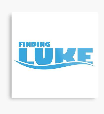 Finding Luke Metal Print