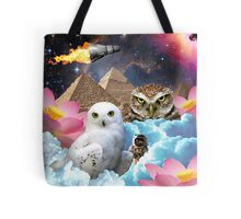 I Dream of Space Owls Tote Bag