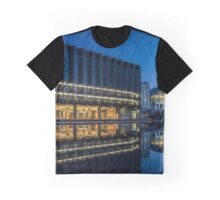 Modern Architecture at dusk  Graphic T-Shirt