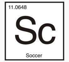 Sc for Soccer Element tshirt for Soccer fans Baby Tee