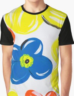 A Pattern of Floral Graphic T-Shirt
