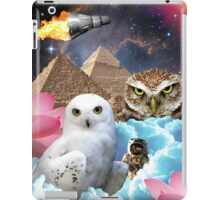 I Dream of Space Owls iPad Case/Skin