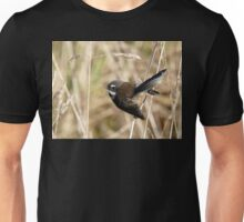 Natures Little Poser - Fantail - NZ Unisex T-Shirt