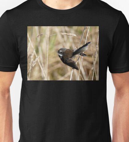 Natures Little Poser - Fantail - NZ Unisex T-Shirt