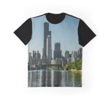 Willis Tower with reflections Graphic T-Shirt