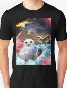 I Dream of Space Owls T-Shirt
