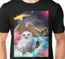 I Dream of Space Owls Unisex T-Shirt