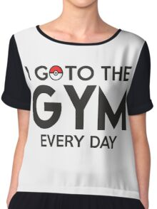 Pokemon - Go to the GYM Chiffon Top
