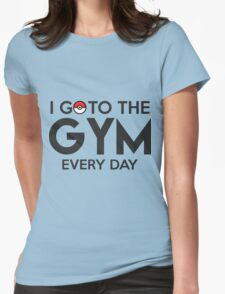 Pokemon - Go to the GYM Womens Fitted T-Shirt