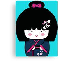 Kokeshi doll Canvas Print