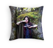 Fortuna's Eyes Throw Pillow