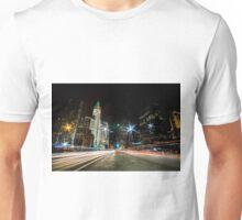 Chicago's mag mile time exposure  Unisex T-Shirt