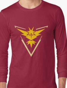 Pokemon GO - Team Instinct (Yellow) Long Sleeve T-Shirt