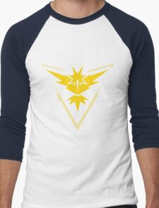Pokemon GO - Team Instinct (Yellow) Men's Baseball ¾ T-Shirt