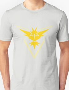 Pokemon GO - Team Instinct (Yellow) Unisex T-Shirt
