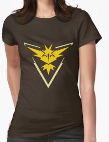 Pokemon GO - Team Instinct (Yellow) Womens Fitted T-Shirt