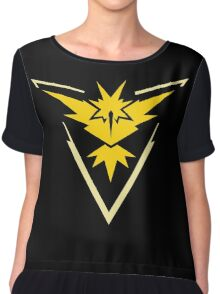 Pokemon GO - Team Instinct (Yellow) Chiffon Top