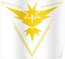 Pokemon GO - Team Instinct (Yellow) Poster
