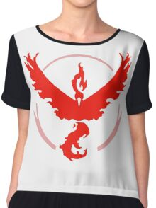 Pokemon GO - Team Valor (Red) Chiffon Top