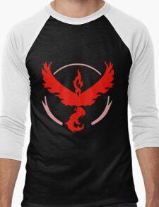 Pokemon GO - Team Valor (Red) Men's Baseball ¾ T-Shirt