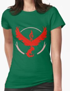 Pokemon GO - Team Valor (Red) Womens Fitted T-Shirt