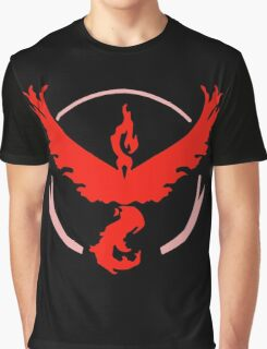 Pokemon GO - Team Valor (Red) Graphic T-Shirt