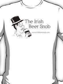 Irish Beer Snob Black T-Shirt