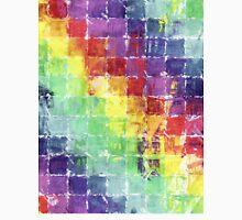 Geometric Squares Watercolor Unisex T-Shirt
