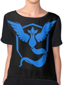Pokemon GO - Team Mystic (Blue) Chiffon Top