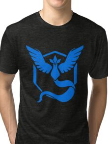 Pokemon GO - Team Mystic (Blue) Tri-blend T-Shirt